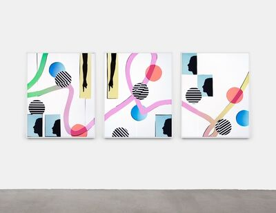 Hannah Whitaker, 'We Us and That (triptych)', 2020