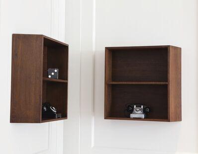 Le Corbusier, 'Three Bookshelves for La Maison du Brésil, Cité Internationale Universitaire de Paris', circa 1956