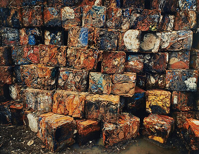Edward Burtynsky, 'Densified Oil Drums #4, Hamilton, Ontario', 1997