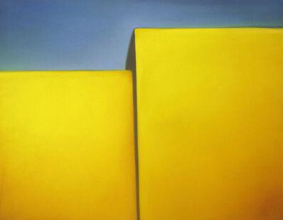 Margaret nes, 'Golden Walls', 2019