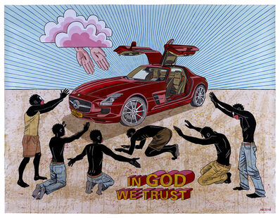 Anton Kannemeyer, 'In God We Trust', 2018