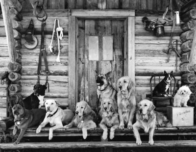 Bruce Weber, 'The Gang at Little Bear Ranch, McLeod, Montana', 1995