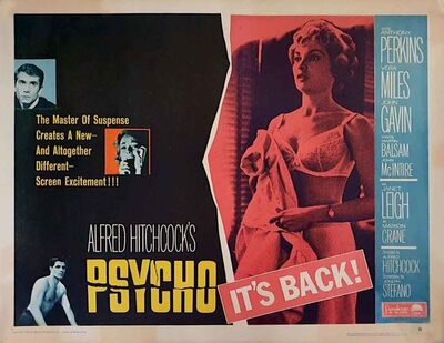 Film Poster, 'Psycho Poster', 1965