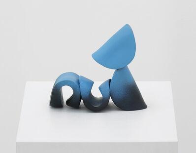 Jessie Flood-Paddock, 'Cyan Nude', 2014