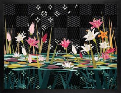 Naturel, 'Grand Luxurious Lilies II'