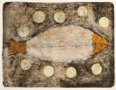 Rufino Tamayo, 'Medio Pescado', 1969