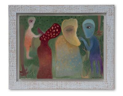 Manuel Mendive, 'Hombre, Naturaleza y Ancestros', 1996