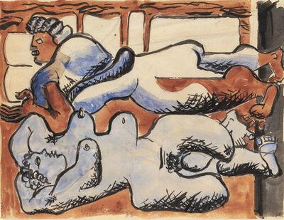 Le Corbusier, 'Deux Femmes étendues sur un lit', 1933