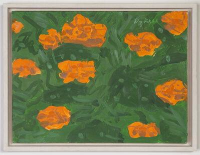Alex Katz, 'Marigold #1', 2001