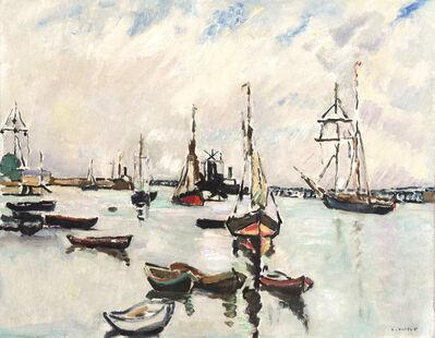 Louis Valtat, 'Dans le port de Ouistreham', ca. 1927