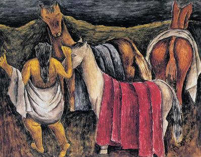 Maria Izquierdo, 'Los caballos', 1938