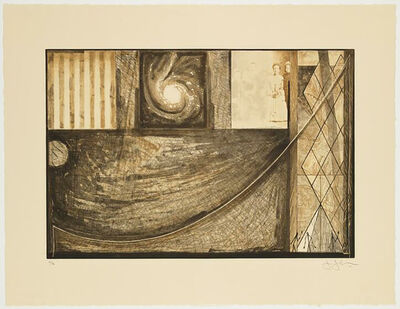Jasper Johns, 'Untitled', 2001