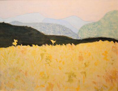 Sally Michel Avery, 'Wheat Field', 1962