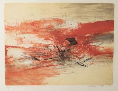 Zao Wou-Ki 趙無極, 'Sans Titre', 1969