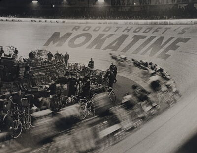 Gerry Cranham, 'Antwerp 6 Days Cycle Race, Feb 1961'