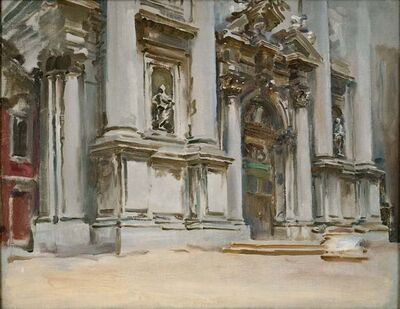 John Singer Sargent, 'Church of San Stae, Venice', ca. 1909