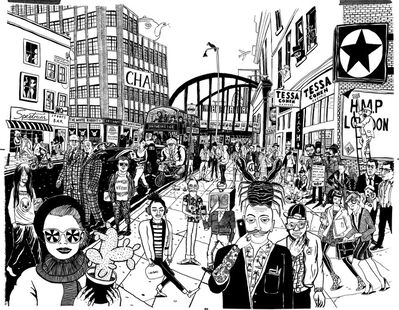 Le Gun, 'Shoreditch High Street', 2014