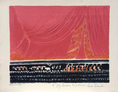 Andre Brasilier, 'Concert', ca. 1976