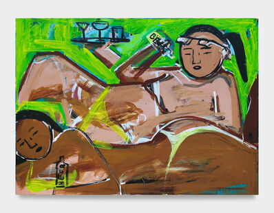 Monica Kim Garza, 'Drinks by the Pool', 2019