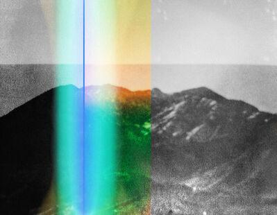 Penelope Umbrico, 'Weston with GreenPlastic SplitScreen and LightLeak', 2014