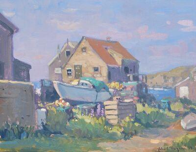 John C. Traynor, 'moored boat', 1999