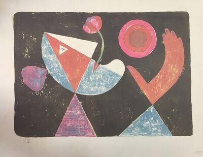 Victor Brauner, 'La Fiancée Heliotropique', 1955