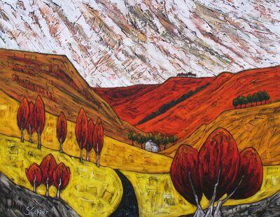 Steve Capper, 'In the Pennines, Saddleworth, Abstract Landscape', ca. 2013