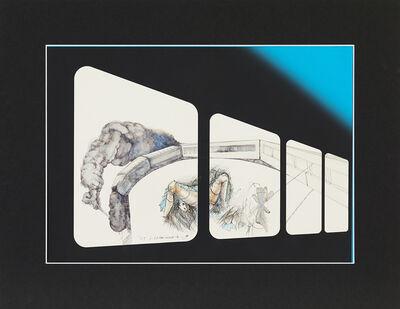 Hiroshi NAKAMURA, '車窓と少女', 2005