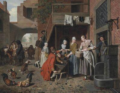 Jan Josef Horemans I, 'The mussel vendor'