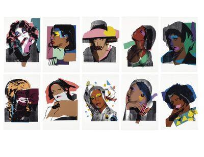 Andy Warhol, 'Ladies and Gentlemen, F.S.II.128-137', 1975