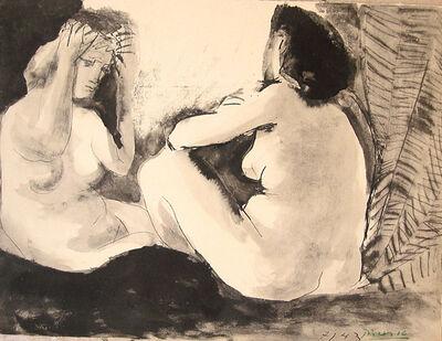 Pablo Picasso, 'Deux Femmes', 1943