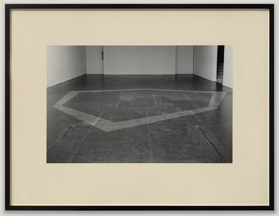 David Hall, 'Displacement (Removal Piece)', 1970
