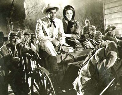 Clarence Sinclair Bull, 'Clark Gable and Vivien Leigh in Gone with the Wind', 1939 / 1939-51
