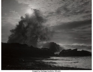 Steve Crouch, 'Surf, Spring Storm, Point Lobos, California', 1965-printed later