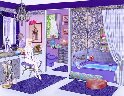 Laurie Simmons, 'The Instant Decorator (Lavender Bathroom)', 2004