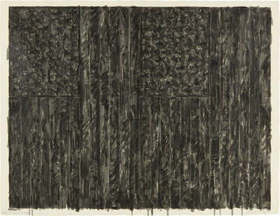 Jasper Johns, 'Flags II', 1973