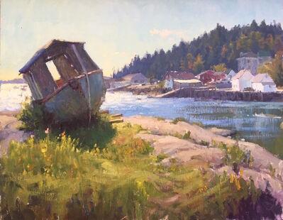 Carl Bretzke, 'Abandoned Boat - Stonington', 2016