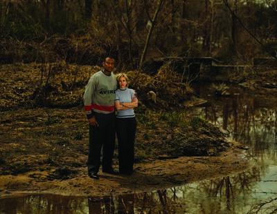 Taryn Simon, ''RONALD COTTON With victim Jennifer Thompson, Winston-Salem, North Carolina Served 10.5 years of a life sentence for Rape'', 2002