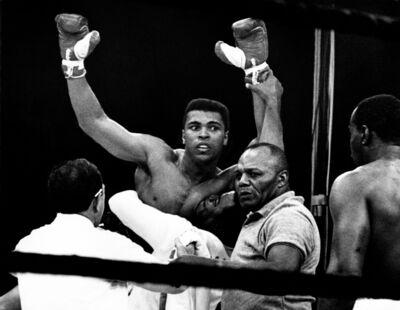 Harry Benson, 'Muhammed Ali KO Listen, Lewiston Maine', 1965