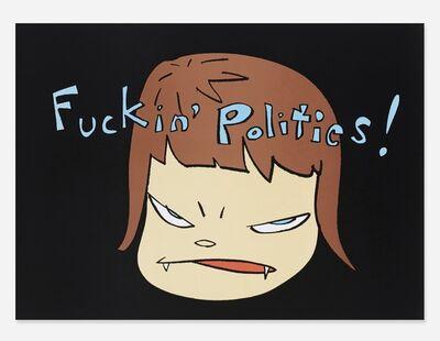 Yoshitomo Nara, 'Fuckin' Politics', 2003