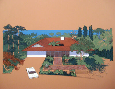 Carlos Diniz, 'Monarch Bay Homes, Hip Roof Model ( Ladd and Kelsey, Architects)', 1961