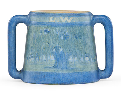 "Anna Frances Simpson, 'Unique two-handled vase, ""L.W. 1917,"" New Orleans, LA', 1916"