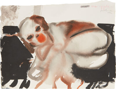 Marlene Dumas, 'The Apple', 1994