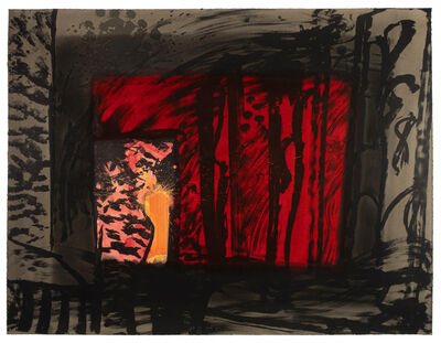 Howard Hodgkin, 'Blood', 1983