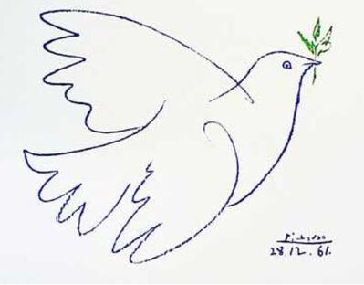 Pablo Picasso, 'Peace Dove / Paloma del Pace / Colombe de la Paix', Dec 28-1961