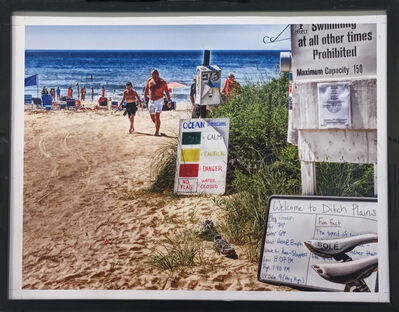DJ Leon, 'Ditch Plains Beach', 2014