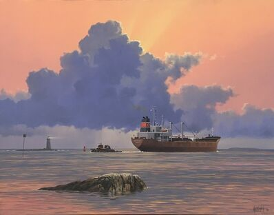 Simon Harling, 'Morning Light, Departure of Patricia '