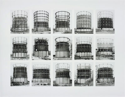 Bernd and Hilla Becher, 'Gasbehälter (Gas Tanks), image VII, from Typologies series', 2008
