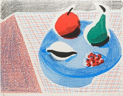 David Hockney, 'The Round Plate, April 1986',  1986