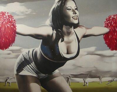Snehashish Maity, 'CHEERING GAME...', 2010